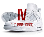 air jordan iv black red Air Jordan   History of the Franchise