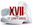 air jordan xvii white blue Air Jordan   History of the Franchise