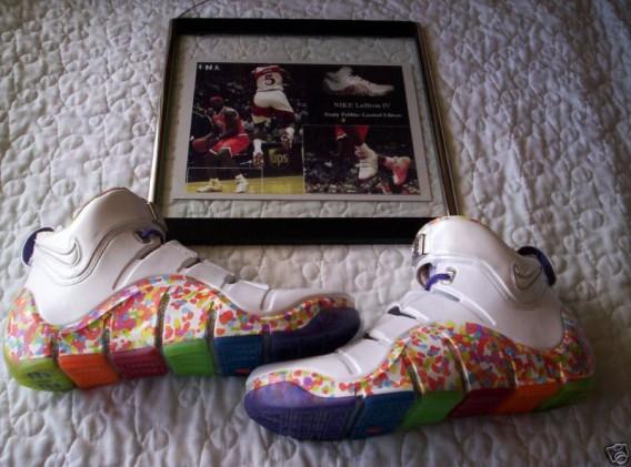Ispezionare caffè pattinare  Nike Zoom LeBron IV - Fruity Pebbles - Gov