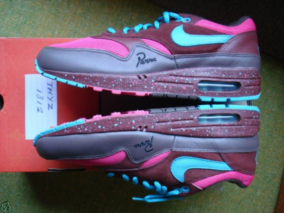 Nike Air Max 1 Amsterdam – Parra Embroidery Promo
