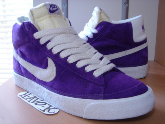 torneo probable en caso  Nike Blazer Suede co.jp Voltage Purple Size 10 - SneakerNews.com