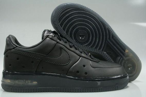 Nike Air Force 1 Low CB34 Max Air Sneakers (Black/Black)