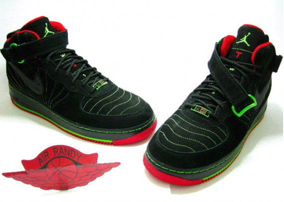 Air Jordan Force XII (12) Fusion - Black/Varsity Red-Taxi-Green Bean