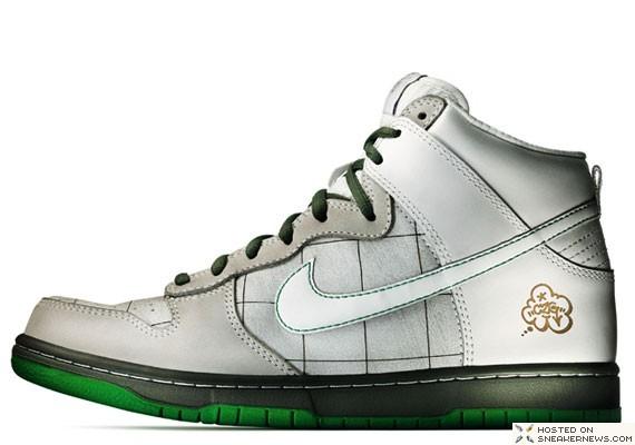 Nike Dunk Sb Brazil Custom Series 02 Cezar Gordo