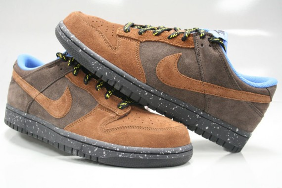 2fa462bdef47 Nike Dunk Low CL Brown Suede - SneakerNews.com
