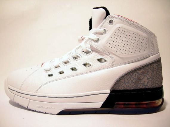 dee68f8e775b Air Jordan Ol  School White Cement - SneakerNews.com