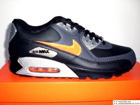 Nike Air Max 90 Carbon/Orange/Blaze Anthracite