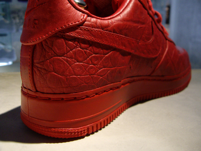 best sneakers b3922 8d203 60%OFF Nike Air Force 1 Red Croc Red Patent Hectic
