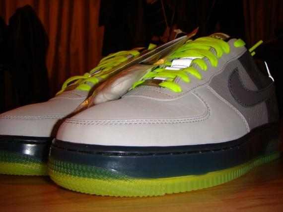 detailed look 31d8d 1c2fe Nike Air Force 1 x Air Max 95 Neon Hybrid Fusion