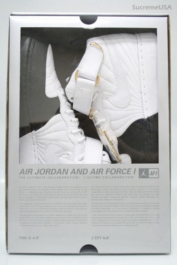 Nike Air Jordan 12 Af1 Fusione - Taxi z4LNr2g