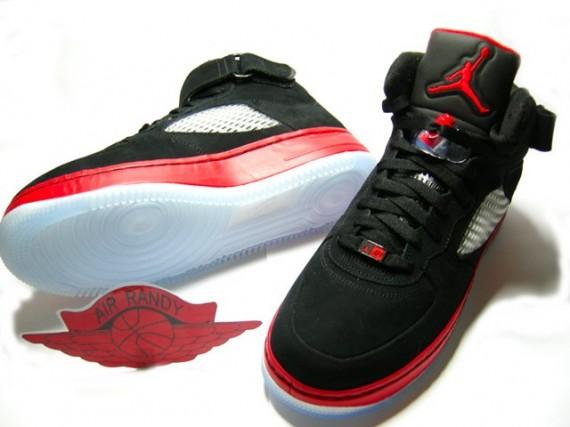 Air Jordan 5 X Negro Fusión Af1 / Yeezys Rojo XZSw8