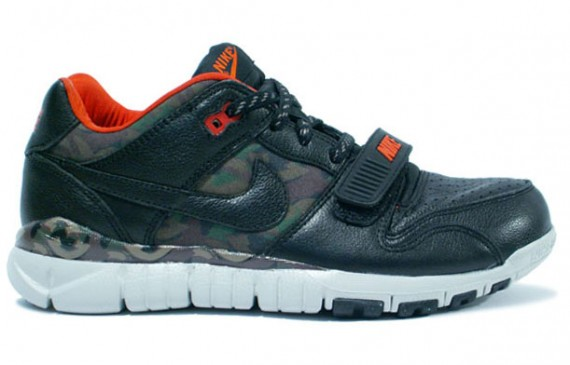 Nike Trainer Dunk Low - Black - Camo