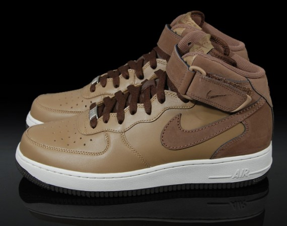 lowest price e808b e27fc Nike Air Force 1 Mid  07 Shades of Brown