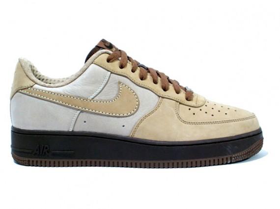 order online 2018 shoes watch Nike Air Force 1 - Tweed - Light Bone - Baroque Brown ...