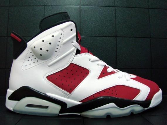 newest dbdb6 733ba Air Jordan VI (6) Carmine - Countdown Pack Collezione #4 ...