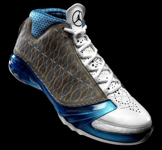 Air Jordan XX3 - White Titanium-University Blue