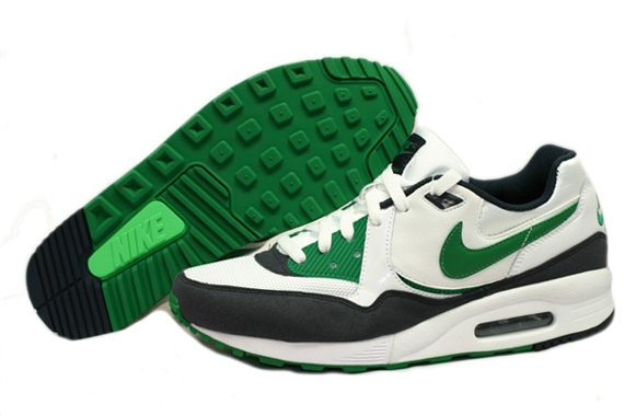 Nike Air Max Light White-Pine Green-Obsidian