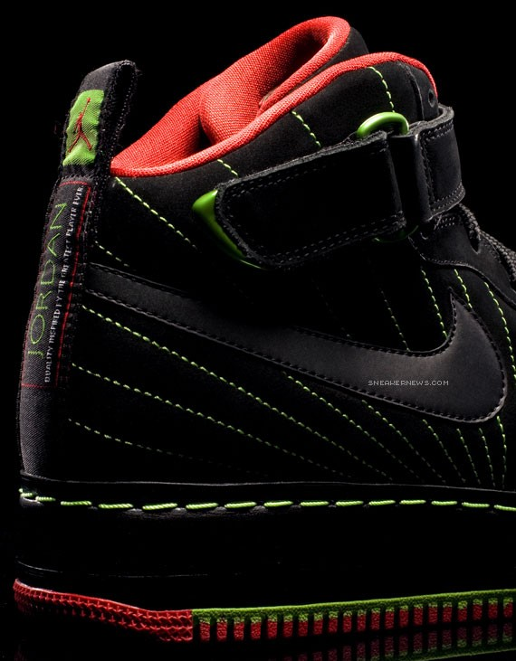Air Jordan Force Fusion XII (AJF 12) Premier - Green Bean ... f68d6e3c41c6