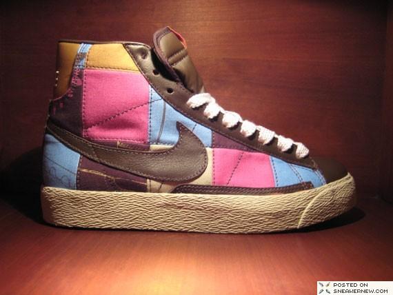 Nike Wmns Blazer Mid Premium Patchwork Sneakernews Com
