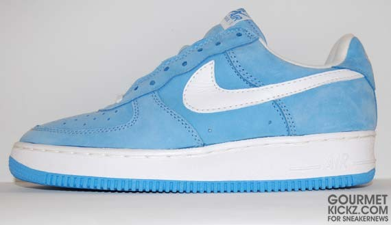 Nike Air Force Blue Suede