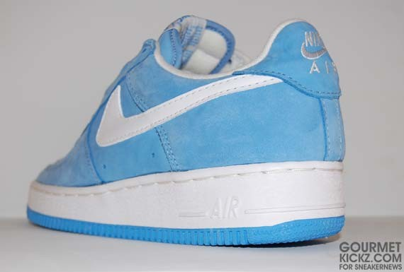 elegant shoes new arrival sells Nike Air Force 1 Low SC - Carolina Blue Suede - SneakerNews.com