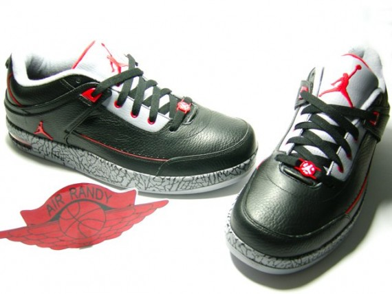 Air Jordan Classic '87 LE Black-Red-Cement