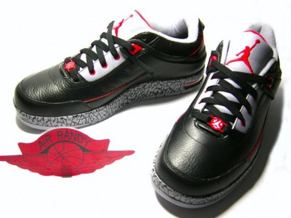 Air Jordan Classic 87 LE Black Red Cement
