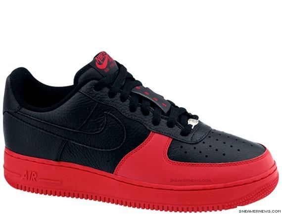 best website d68e9 a8df3 Nike Air Force 1 Low ADV '08 - Black/Red - SneakerNews.com