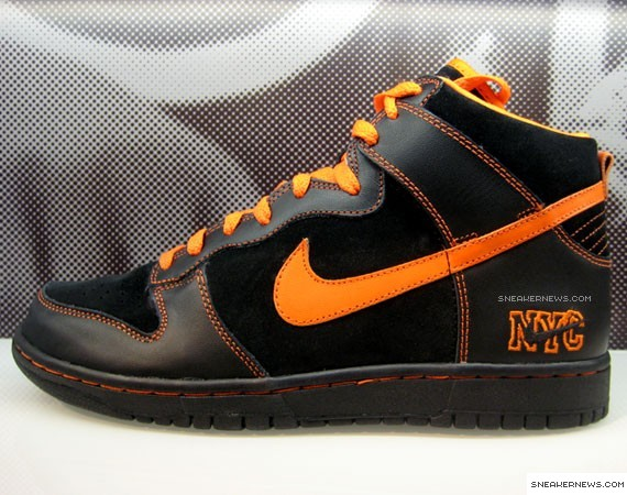 best sneakers 036b7 7cf04 Nike Dunk High - NY Giants - House of Hoops Exclusive