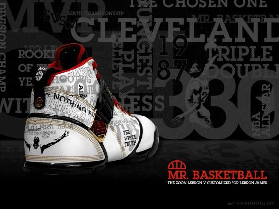 Nike Zoom Lebron V Mr. Basketball