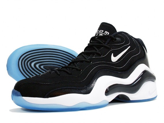 Nike Zoom Flight 96 Black White Royal Now Available