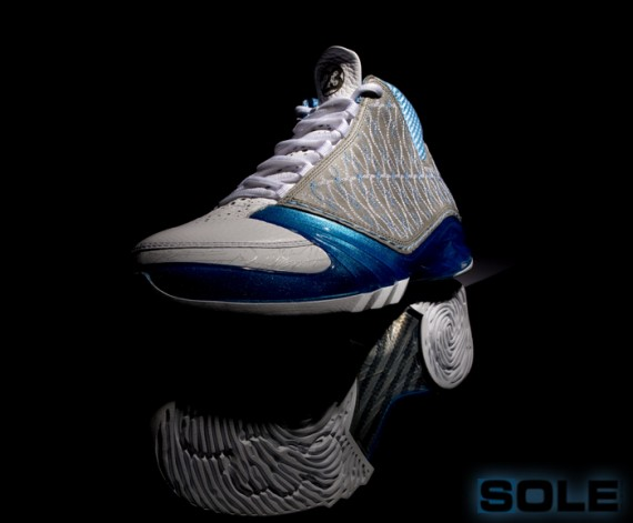 bb97d56a1bb3f9 Air Jordan XX3 (23) - White Titanium-University Blue - 1 25 ...