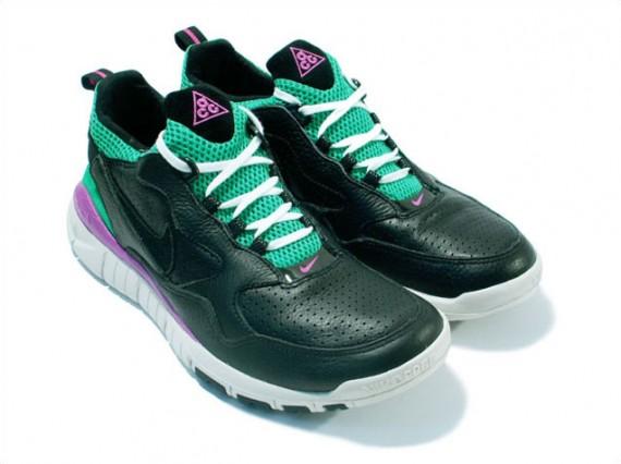huge selection of 91094 92b45 Nike Wildwood 90 Free Trail ACG - Black-Green-Purple