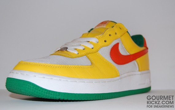 Nike Air Force 1 Notting Hill Carnival Yellow Zest