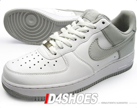 best authentic b35d3 d113e ... hot nike air force 1 white neutral grey snake patent leather durable  modeling 931a7 152fc