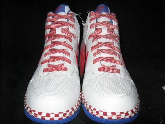 Nike Dunk High Supreme Red Checker