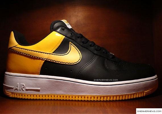 sale retailer d3765 5d3a4 Nike Air Force 1 – Black – Varsity Maize