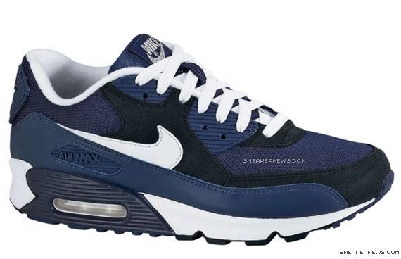 air max blue navy