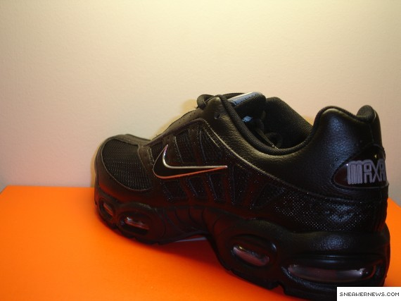 Nike Air Max Tailwind 2008 Black Metallic Silver