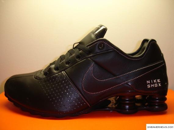 Nike Shox Livrer Cuir Noir 9p7gwp