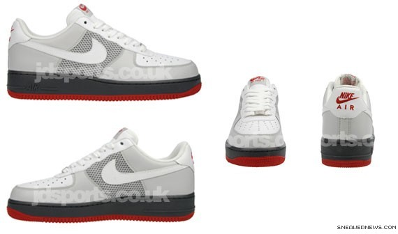b3710e58988 Nike Air Force 1 - White - Grey - Anthracite - JD Sports Exclusive ...