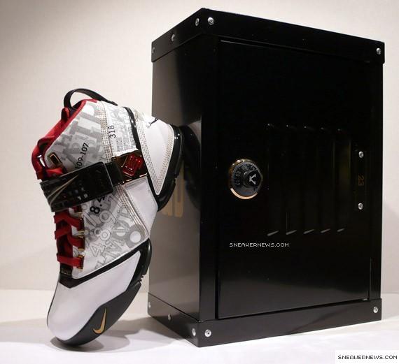 217f4a9006ac Nike Zoom LeBron V - Mr Basketball + Locker Case - SneakerNews.com