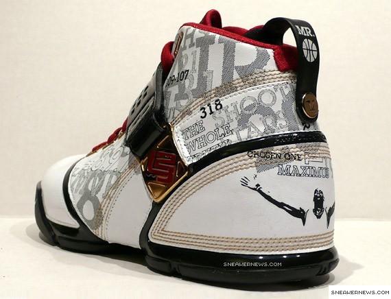 Nike Zoom Lebron V Mr Basketball Locker Case