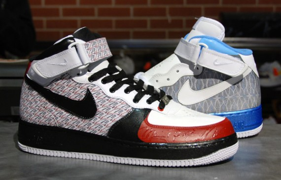 rue du commerce timberland - Nike Air Force 1 Mid - Jordan XX3 Customs - SneakerNews.com