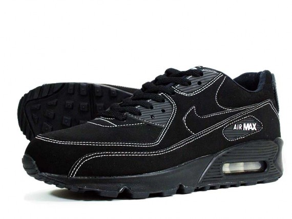 black suede nike air max 90