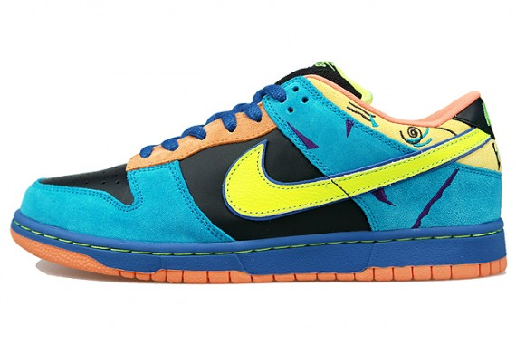 best service aa8bf 8c502 Nike Dunk Low Pro SB - Skate Or Die - Black - Neon Yellow ..