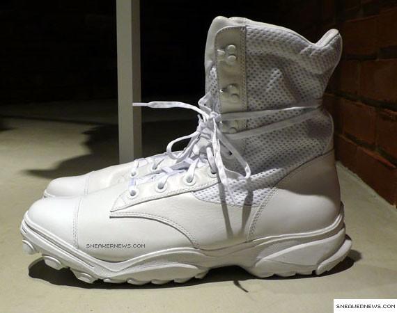 Yohji Yamamoto White Boot - SneakerNews.com