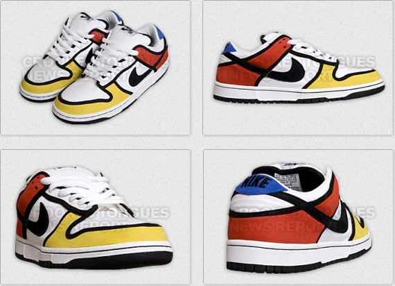 the best attitude f6ec3 b78ac Nike Dunk Low SB - Piet Mondrian