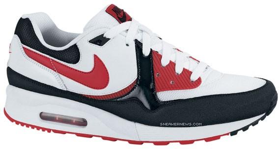 Nike Air Max Light White Varsity Red Black