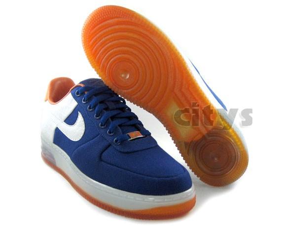 Nike Air Force 1 Canvas Supreme - Knicks